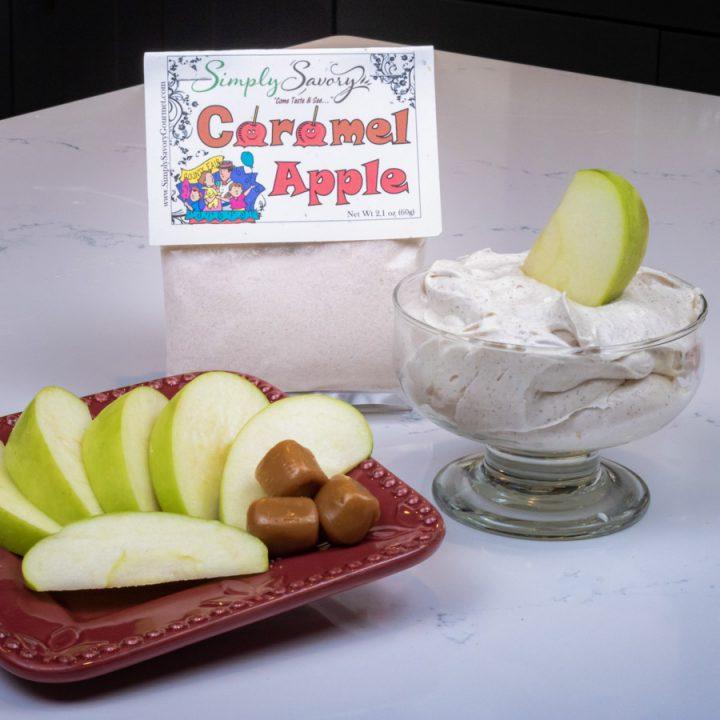 Caramel Apple Dessert Dip with Apples