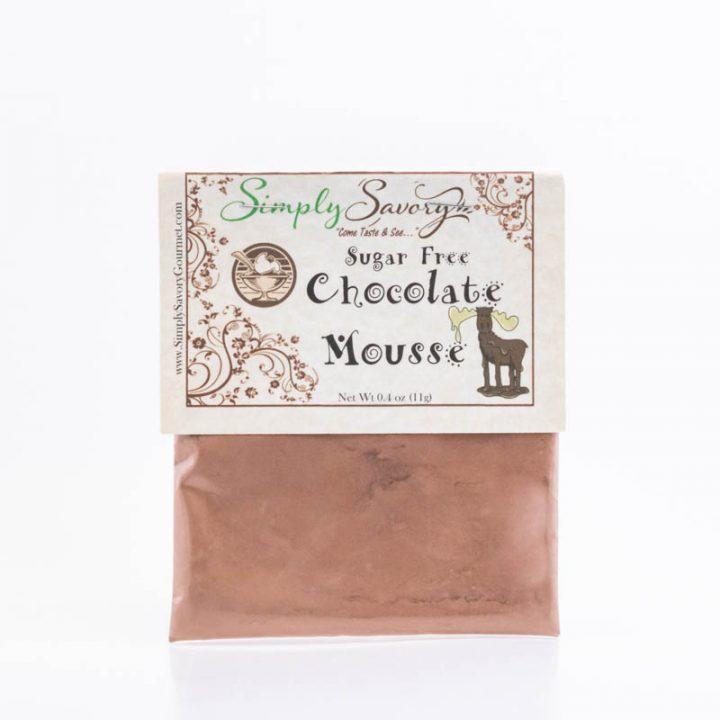 Sugar Free Chocolate Mousse Dessert Dip Packet