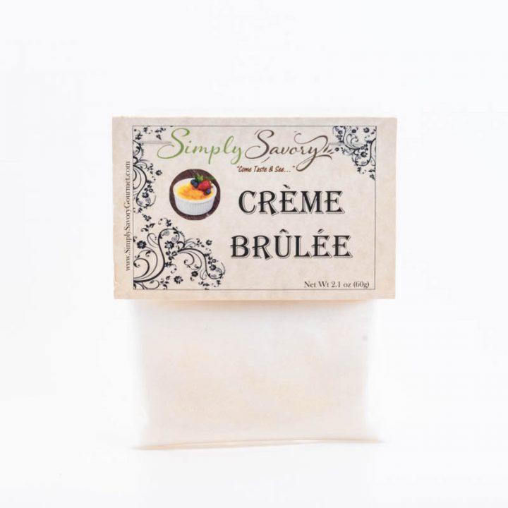 Creme Brulée Dessert Dip Mix Packet