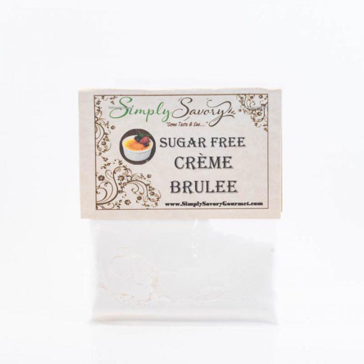 Sugar Free Creme Brulée Dessert Dip Packet