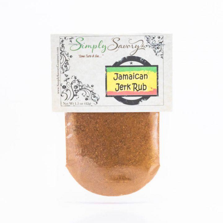 Jamaican Jerk Rub Packet