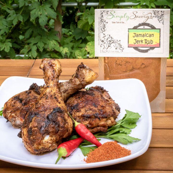Jamaican Jerk Rub on Chicken