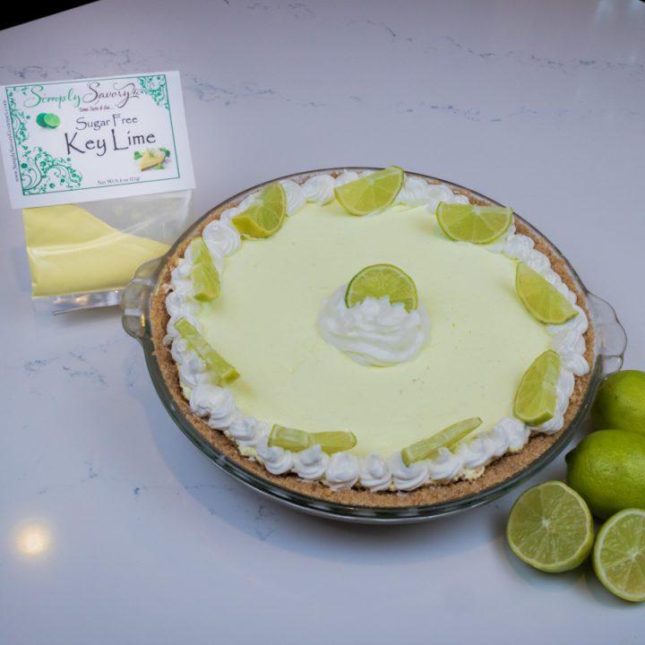Sugar Free Key Lime Pie Dessert
