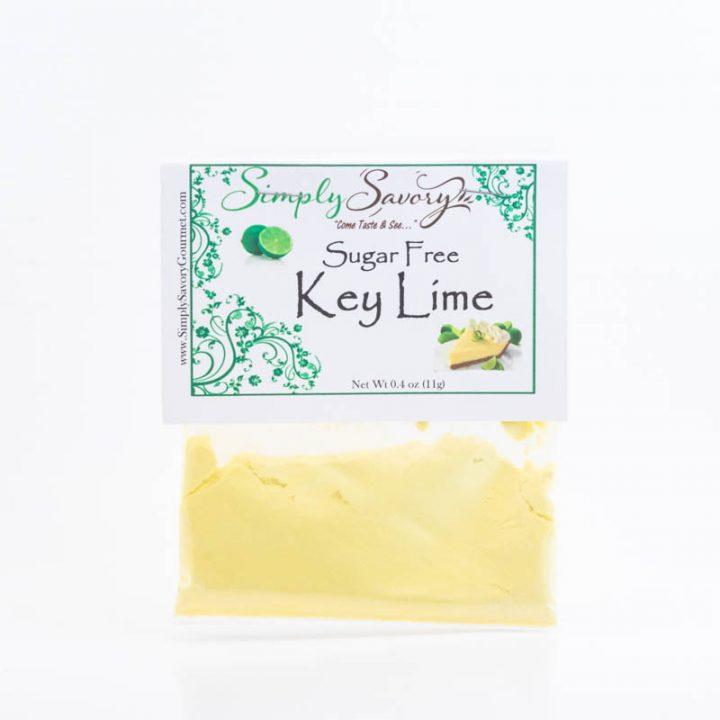 Sugar Free Key Lime Pie Dessert Mix Packet