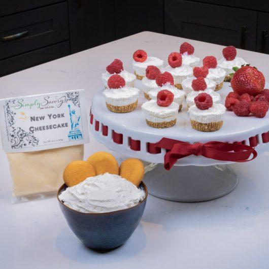 New York Mini Cheesecakes and Dessert Dip
