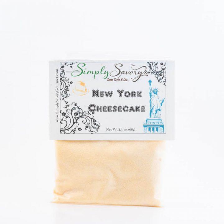 New York Cheesecake Dessert Mix Packet