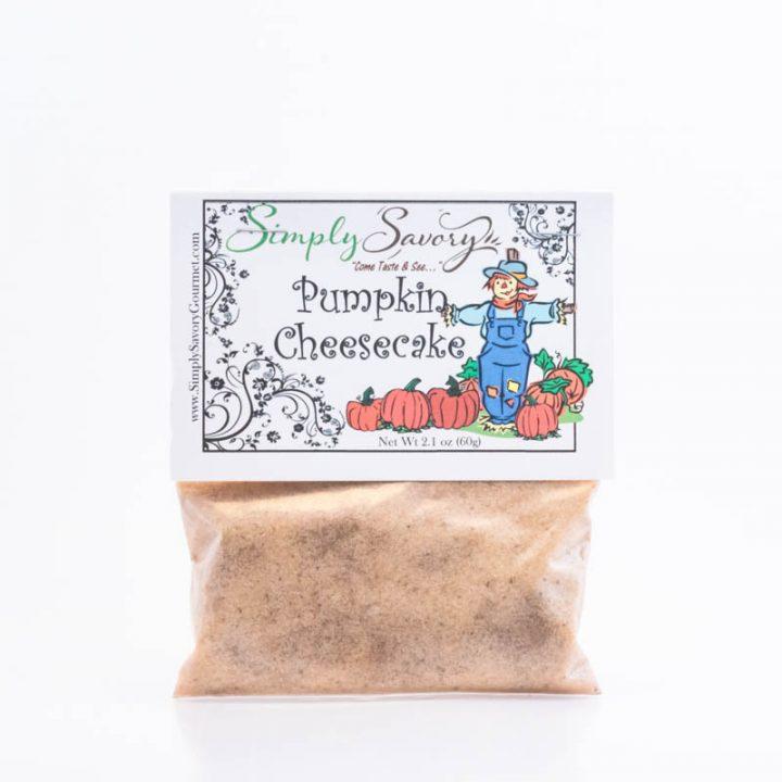 Pumpkin Cheese Cake Packet