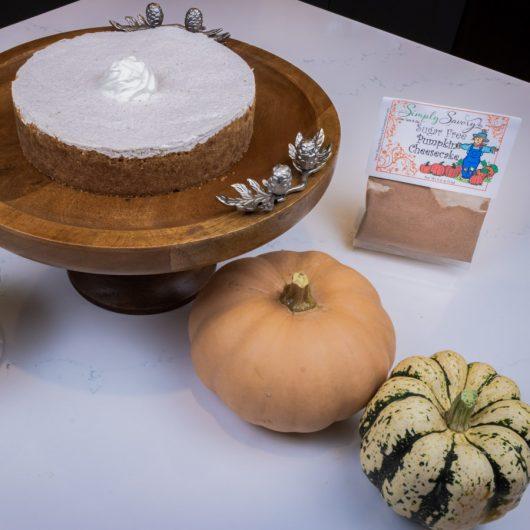 Sugar Free Pumpkin Cheese Cake