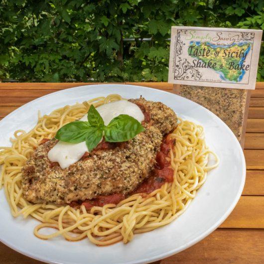 Taste of Sicily Shake and Bake on Chicken Parmesan