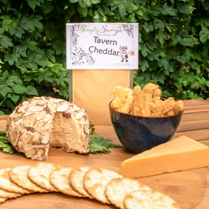 Tavern Cheddar Dip with Cheese Ball