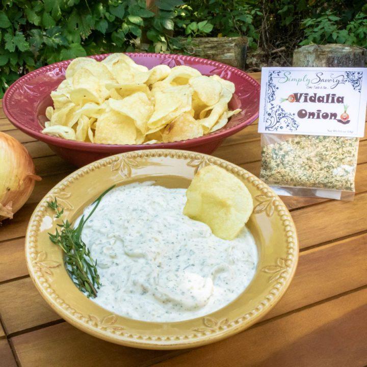 Vidalia Onion Dip and packet