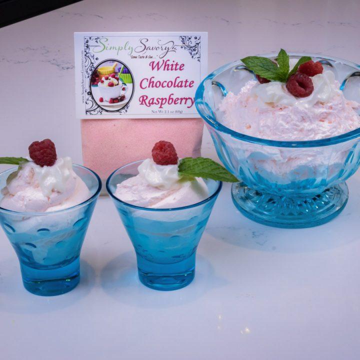 White Chocolate Raspberry Dessert Mix